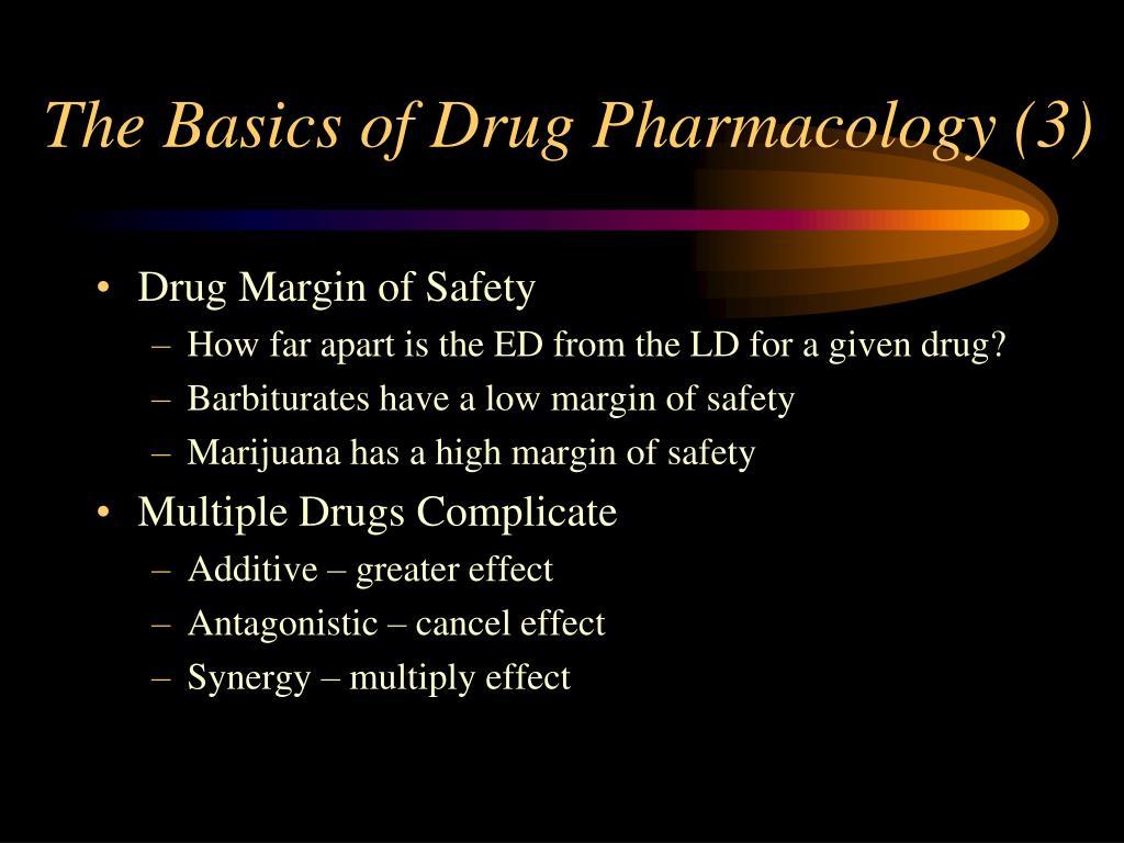 The Basics of Drug Pharmacology (3)