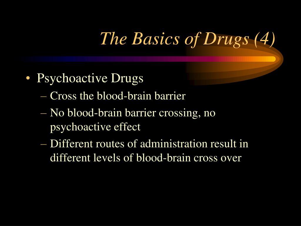 The Basics of Drugs (4)