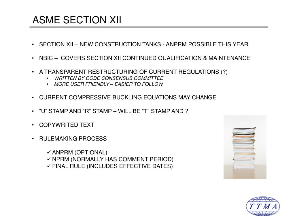 ASME SECTION XII