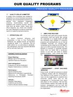 our quality programs10