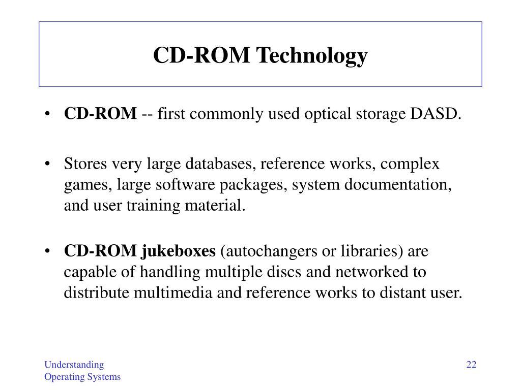 CD-ROM Technology