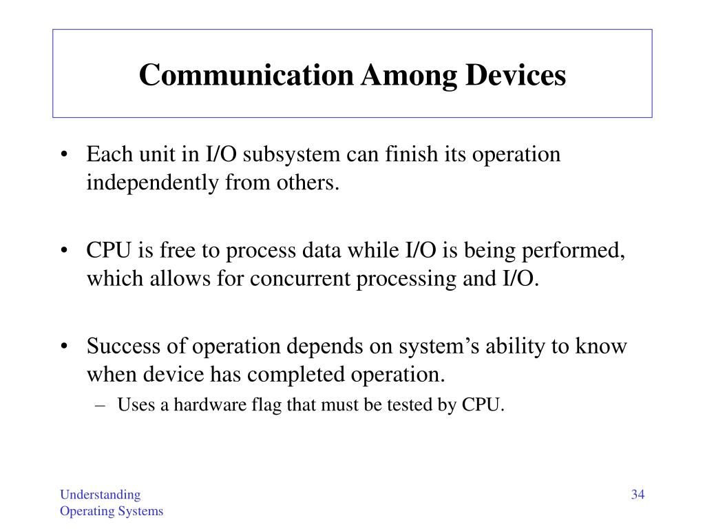 Communication Among Devices