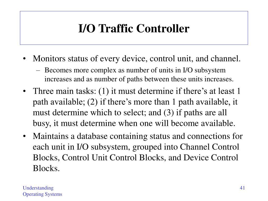 I/O Traffic Controller