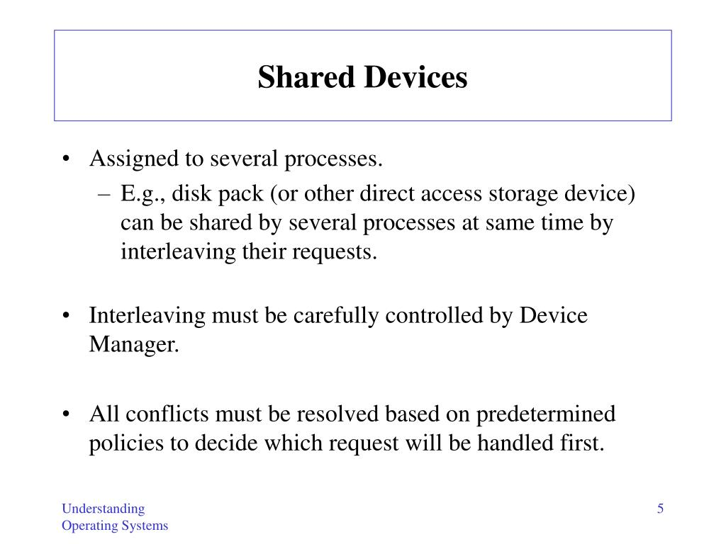 Shared Devices
