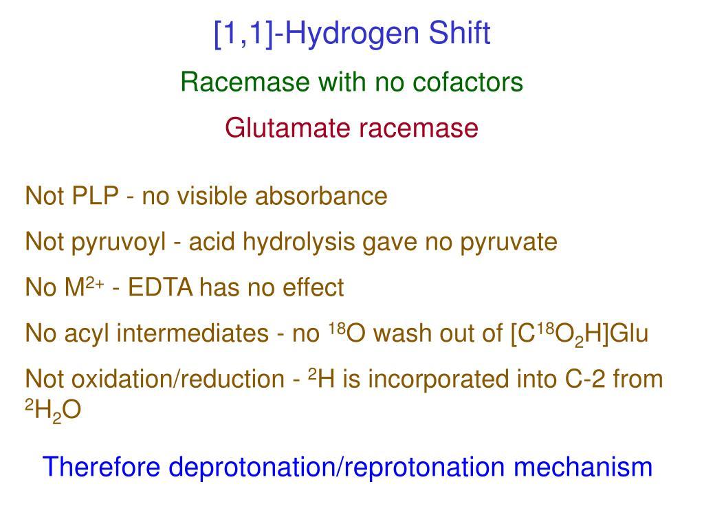 [1,1]-Hydrogen Shift