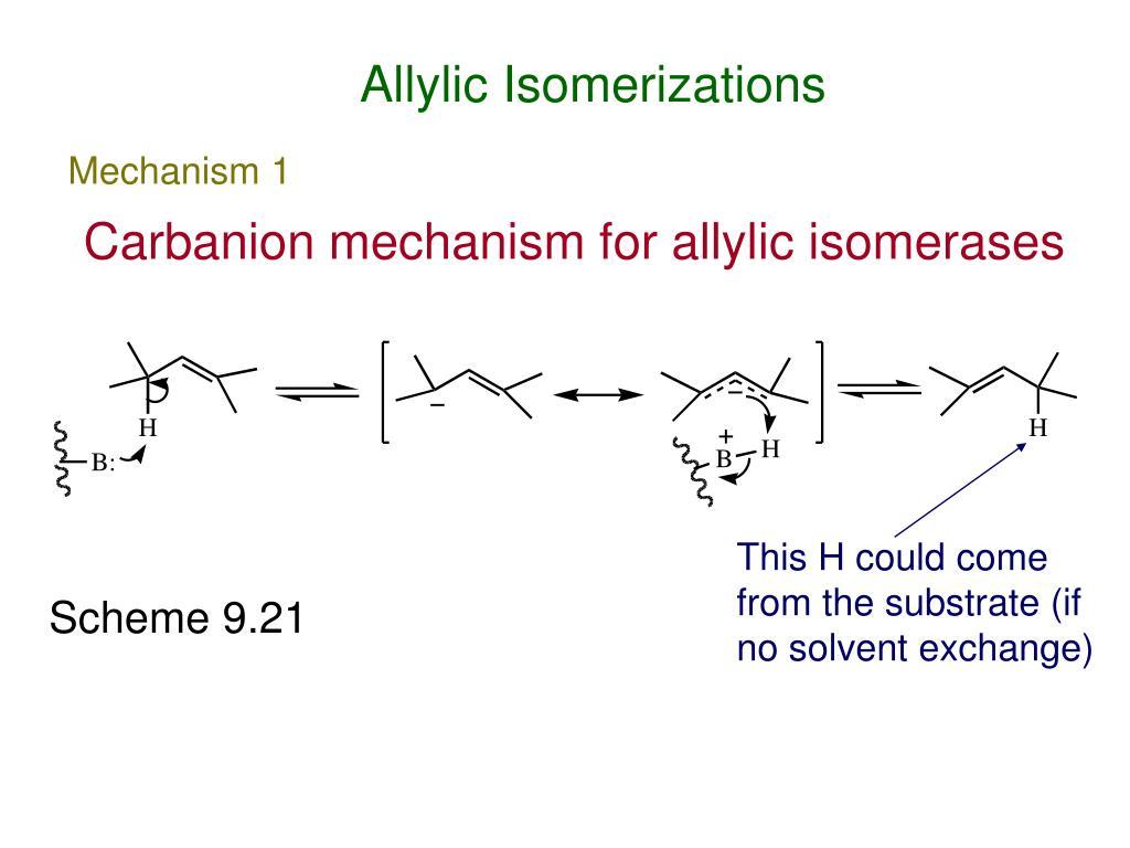 Allylic Isomerizations