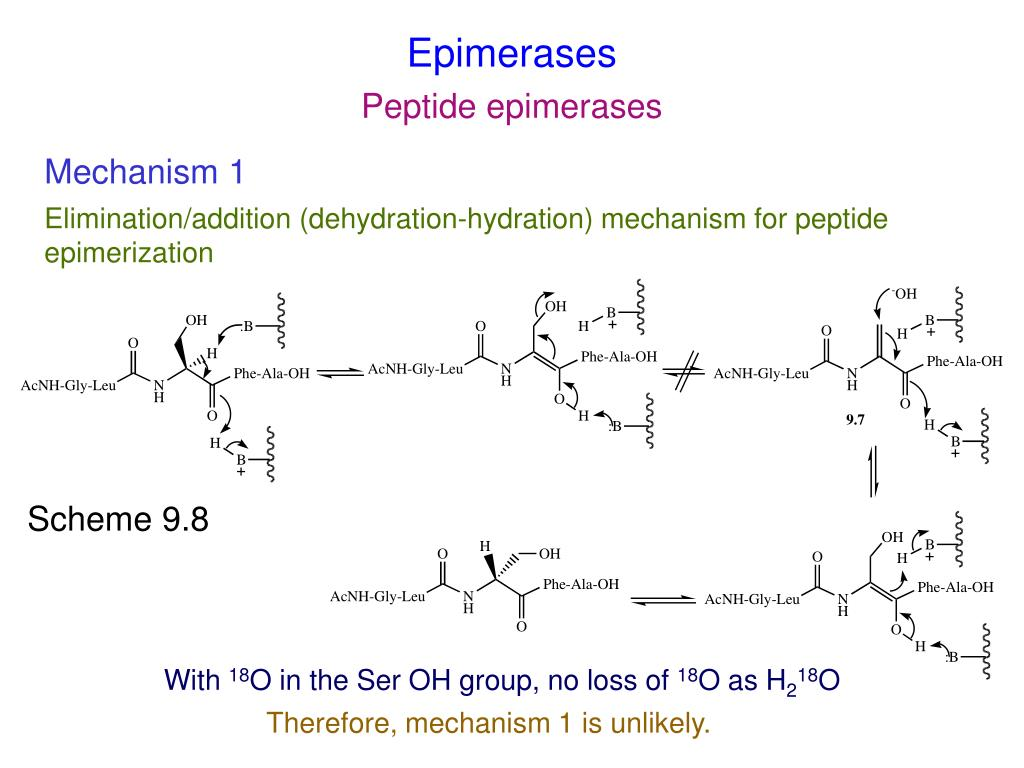 Epimerases