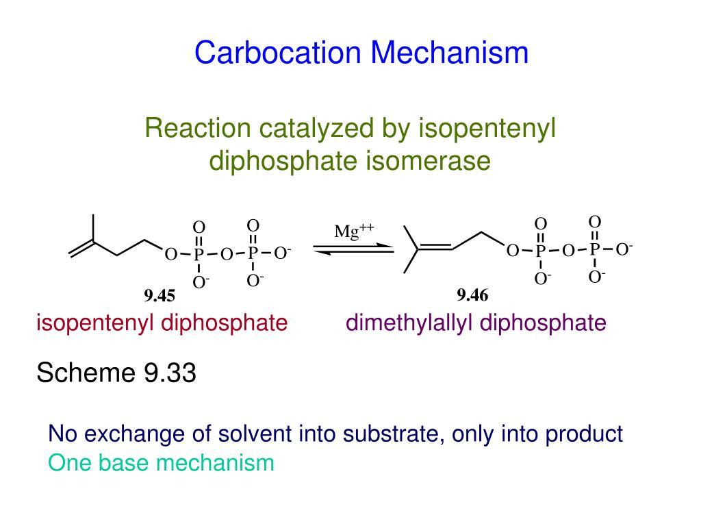 Carbocation Mechanism