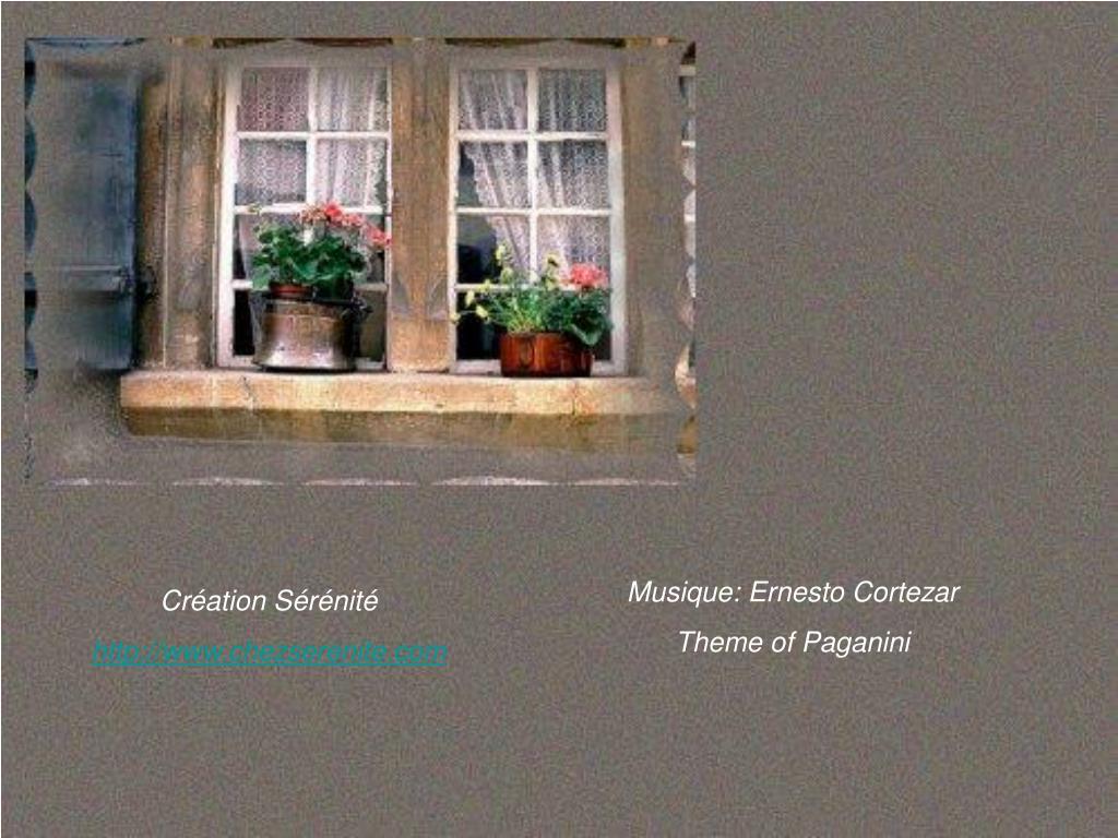 Musique: Ernesto Cortezar