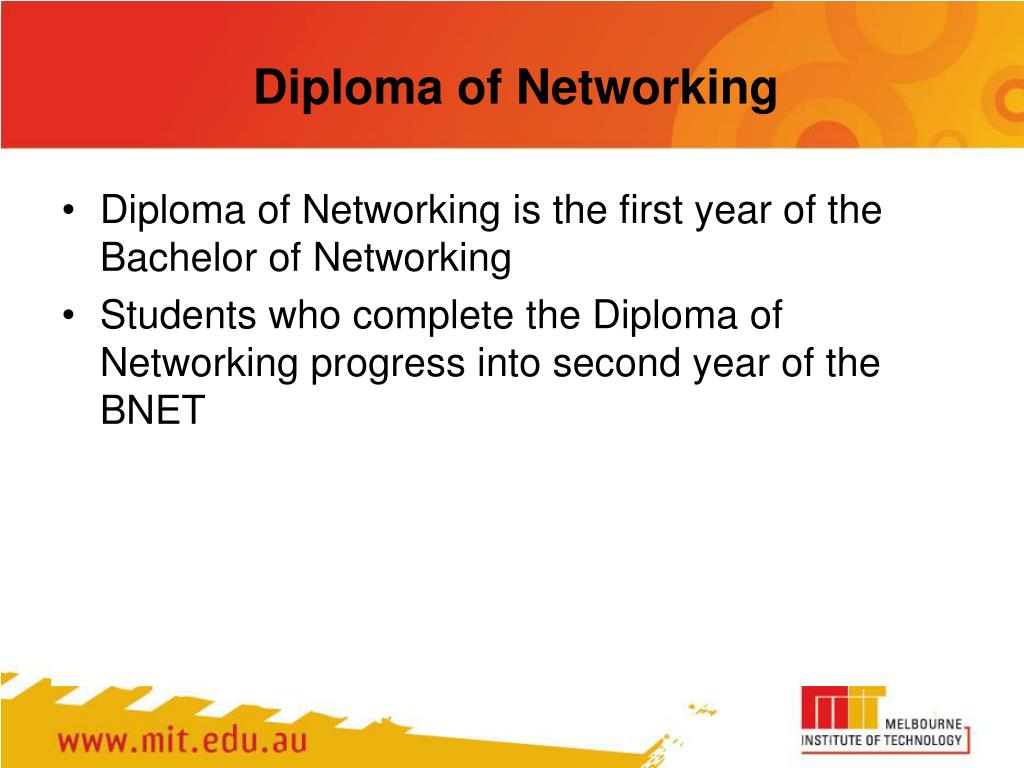 Diploma of Networking