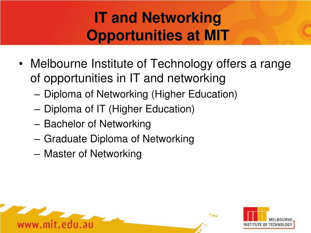 IT and Networking