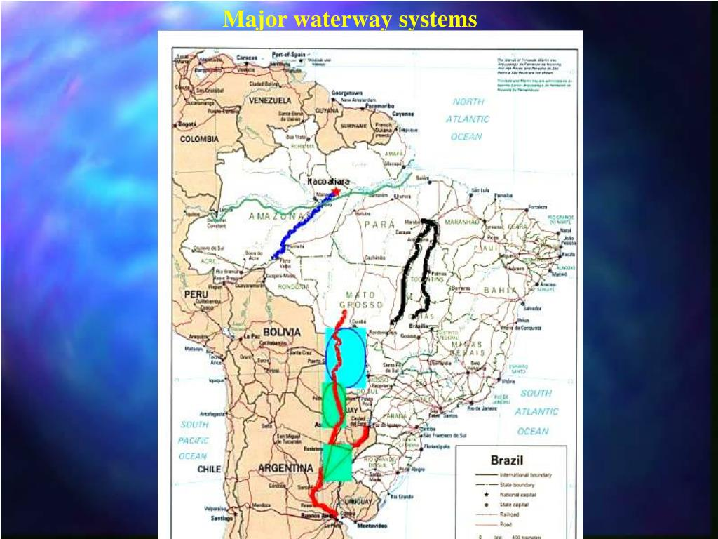 Major waterway systems