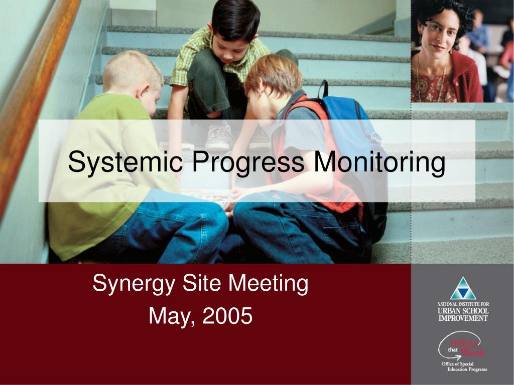 Systemic Progress Monitoring