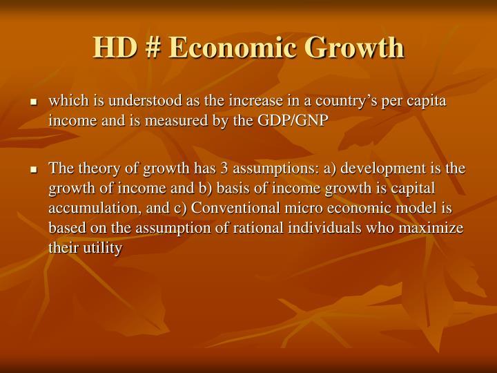 HD # Economic Growth
