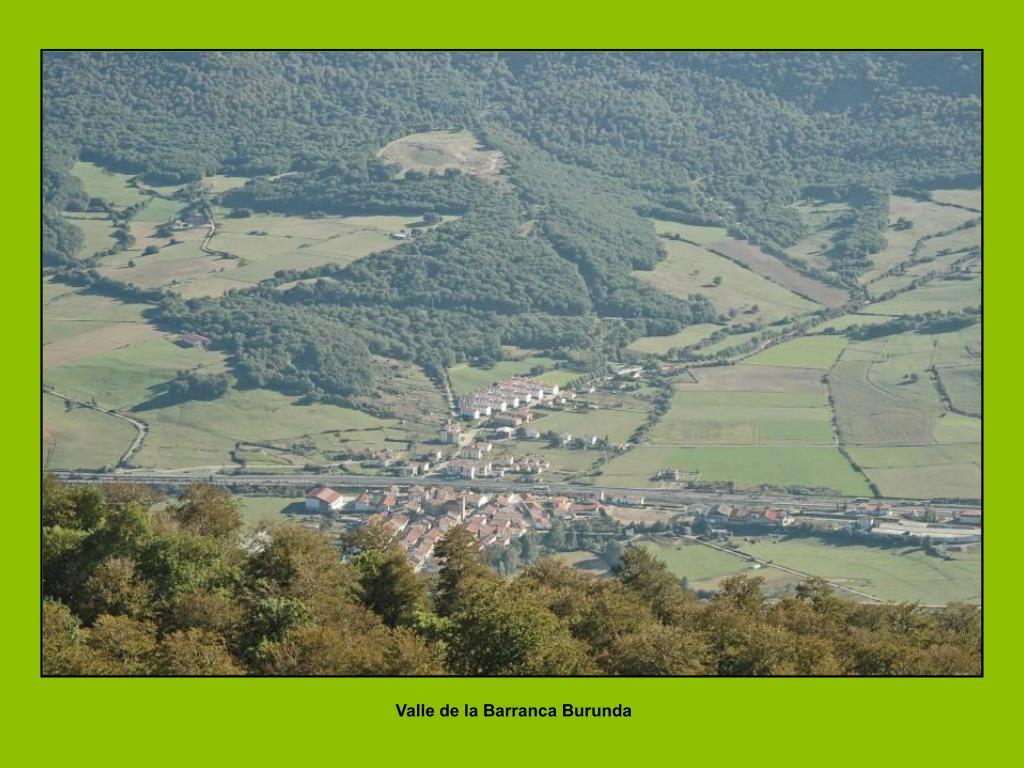 Valle de la Barranca Burunda