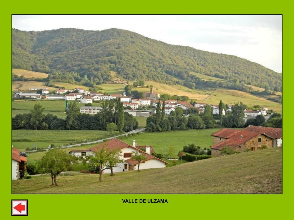 VALLE DE ULZAMA