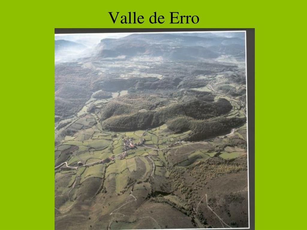 Valle de Erro