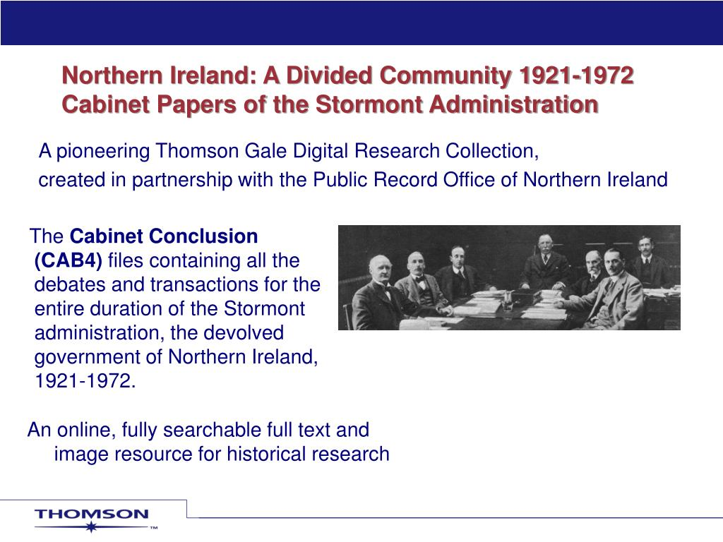 Northern Ireland: A Divided Community 1921-1972