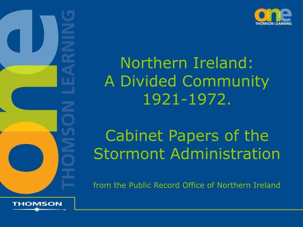 Northern Ireland: