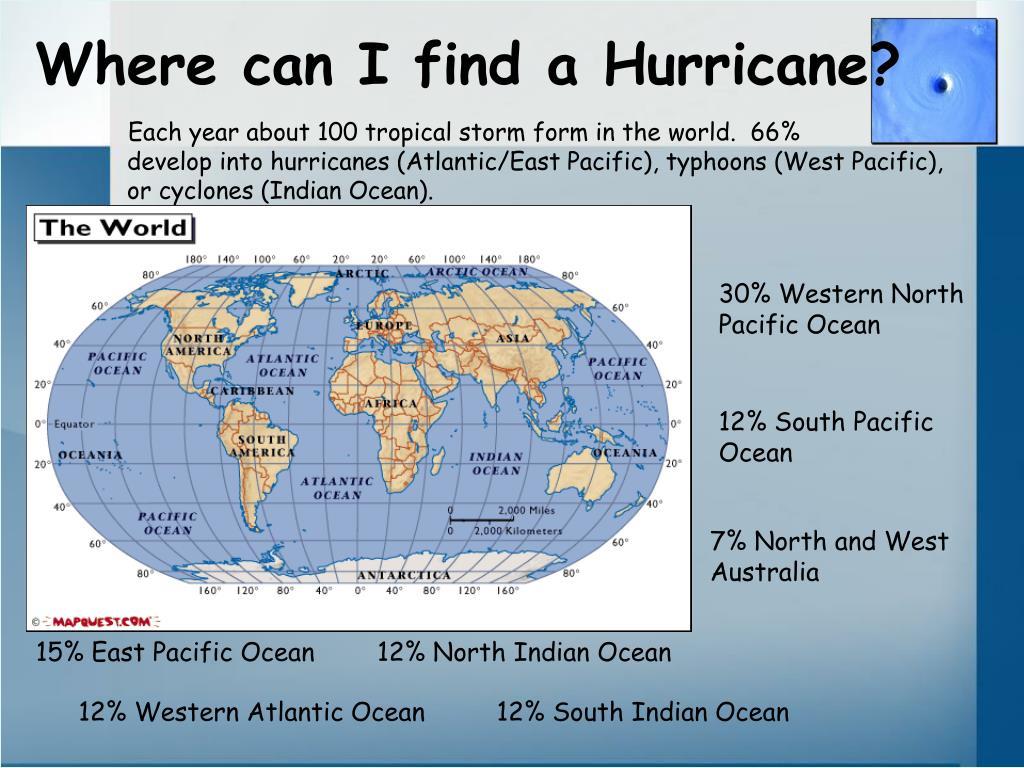 Where can I find a Hurricane?