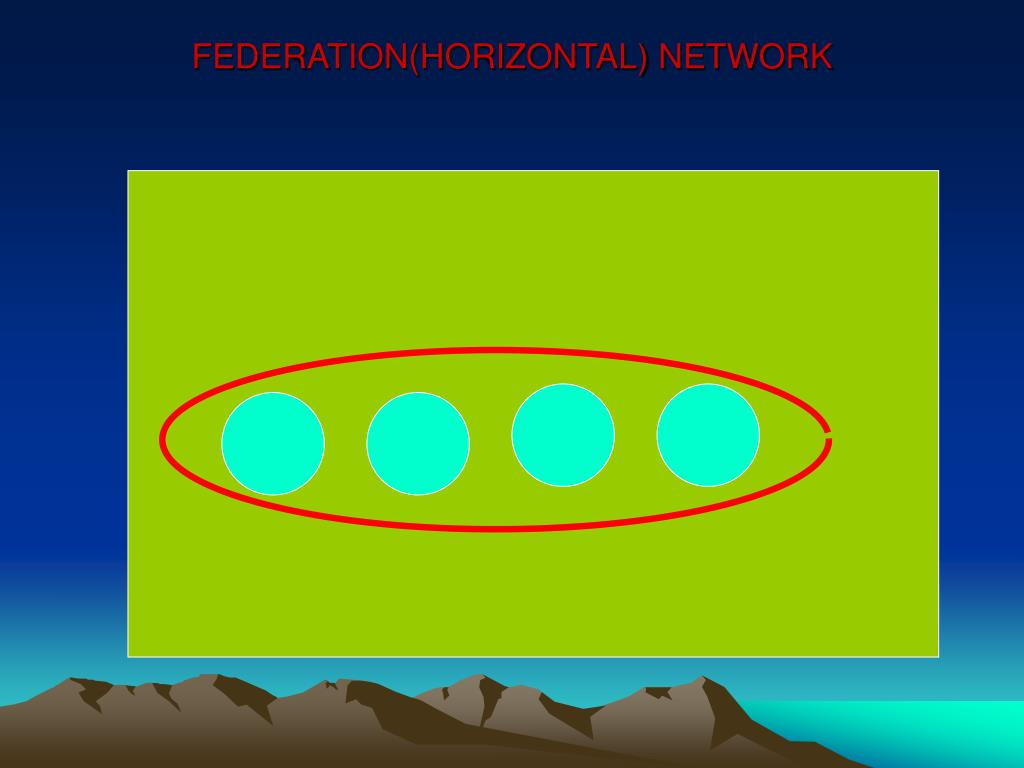 FEDERATION(HORIZONTAL) NETWORK