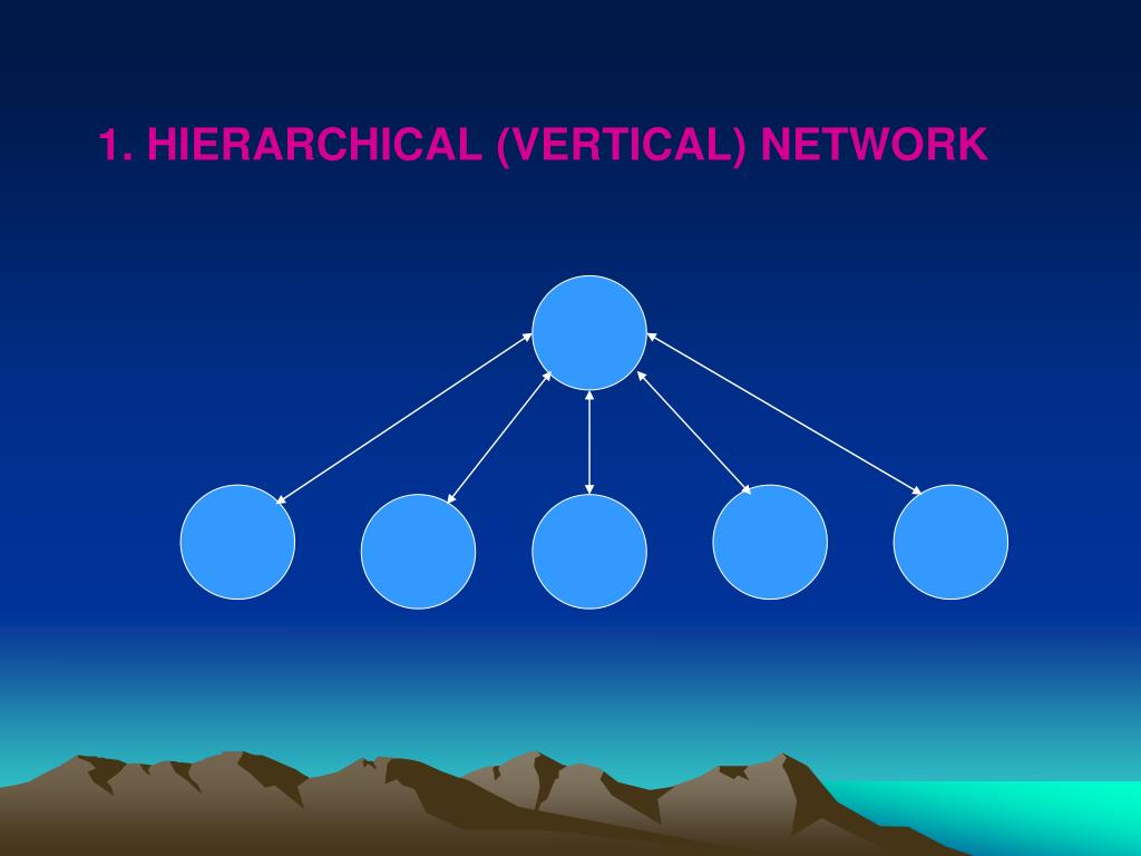 1. HIERARCHICAL (VERTICAL) NETWORK