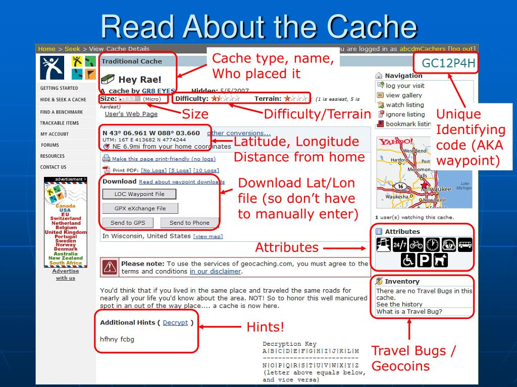 Read About the Cache