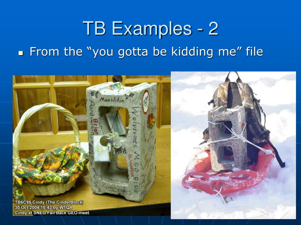 TB Examples - 2