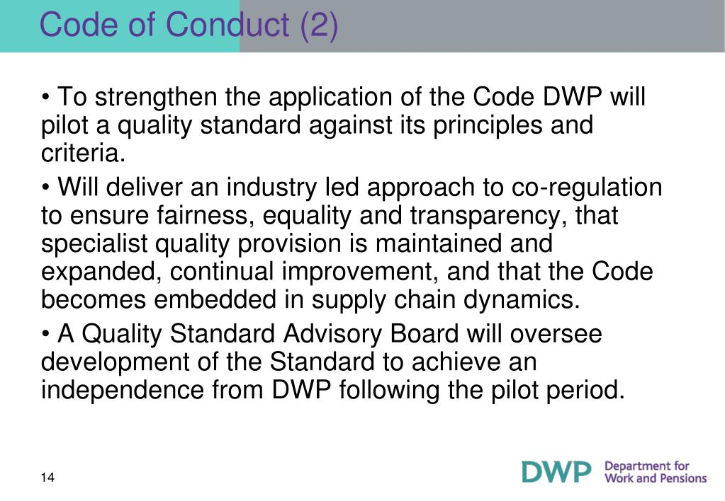 Code of Conduct (2)