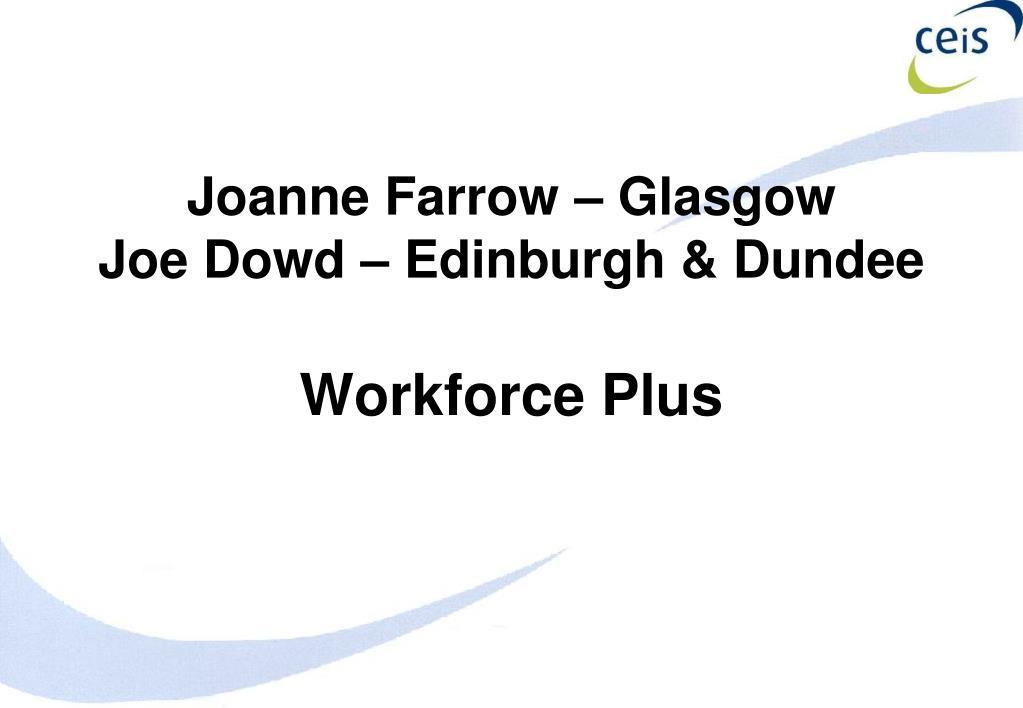 Joanne Farrow – Glasgow