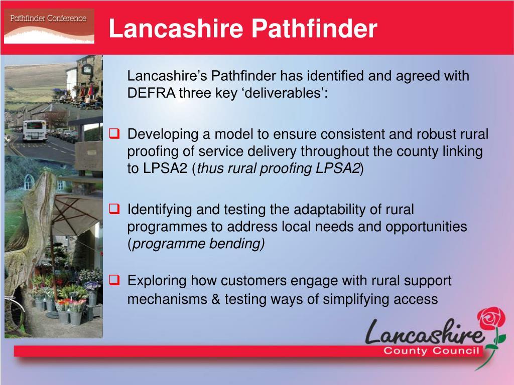 Lancashire Pathfinder
