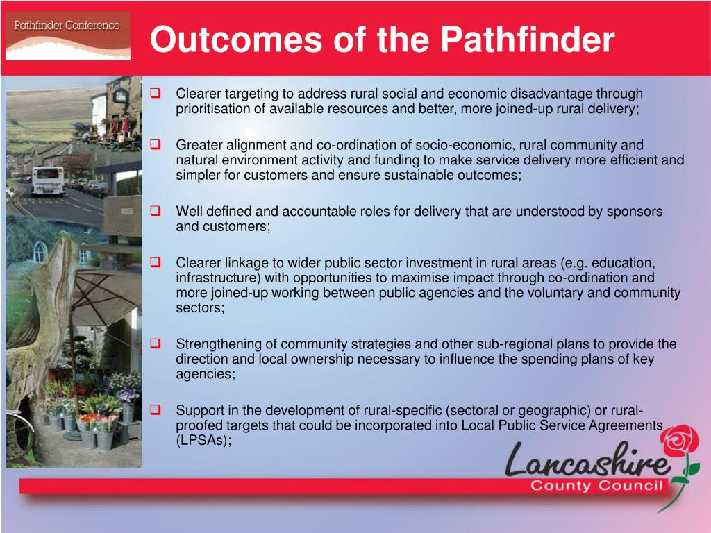 Outcomes of the Pathfinder
