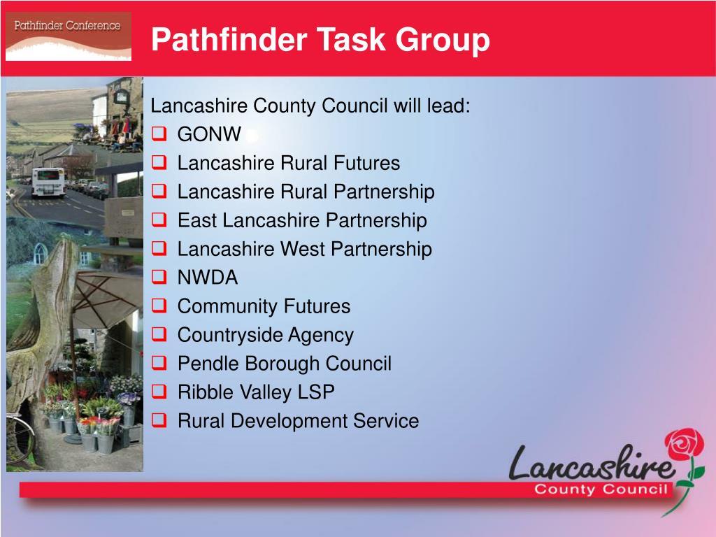 Pathfinder Task Group