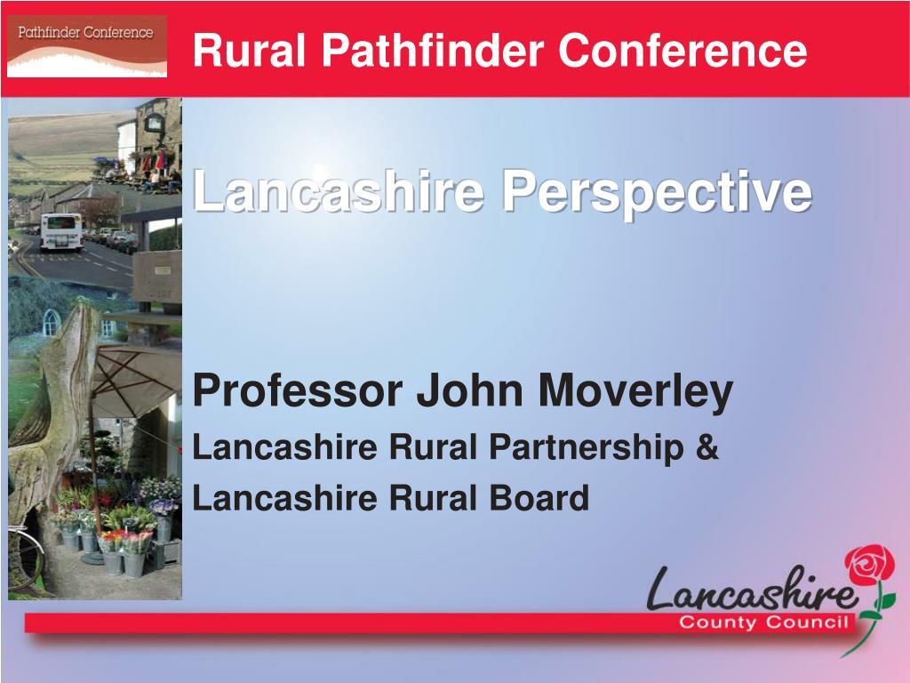 Rural Pathfinder Conference