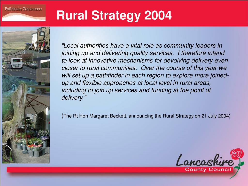 Rural Strategy 2004