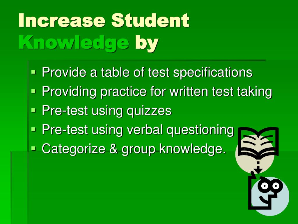 Increase Student