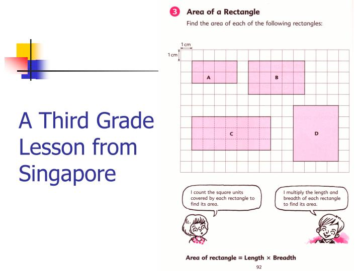 A Third Grade Lesson from Singapore