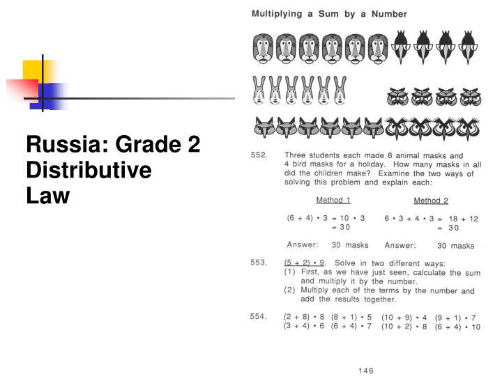 Russia: Grade 2