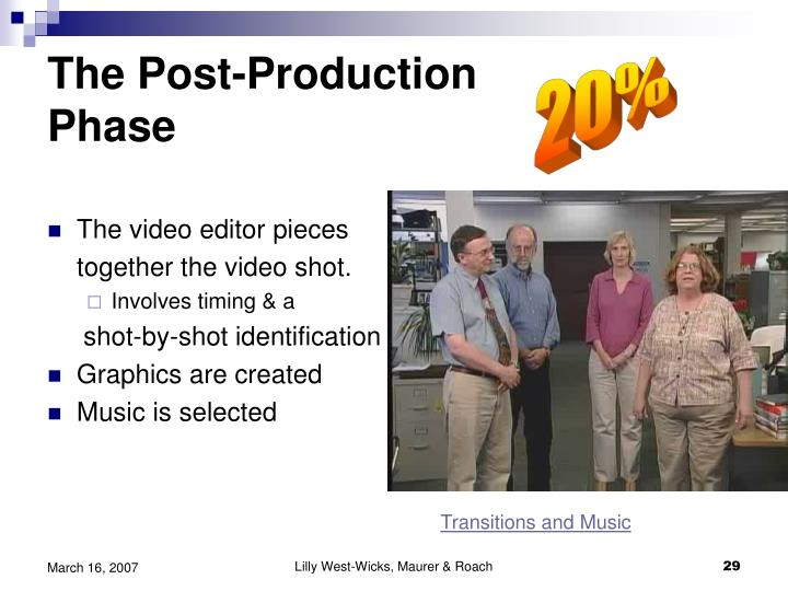The Post-Production