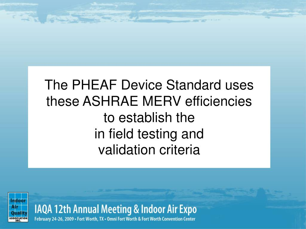 The PHEAF Device Standard uses