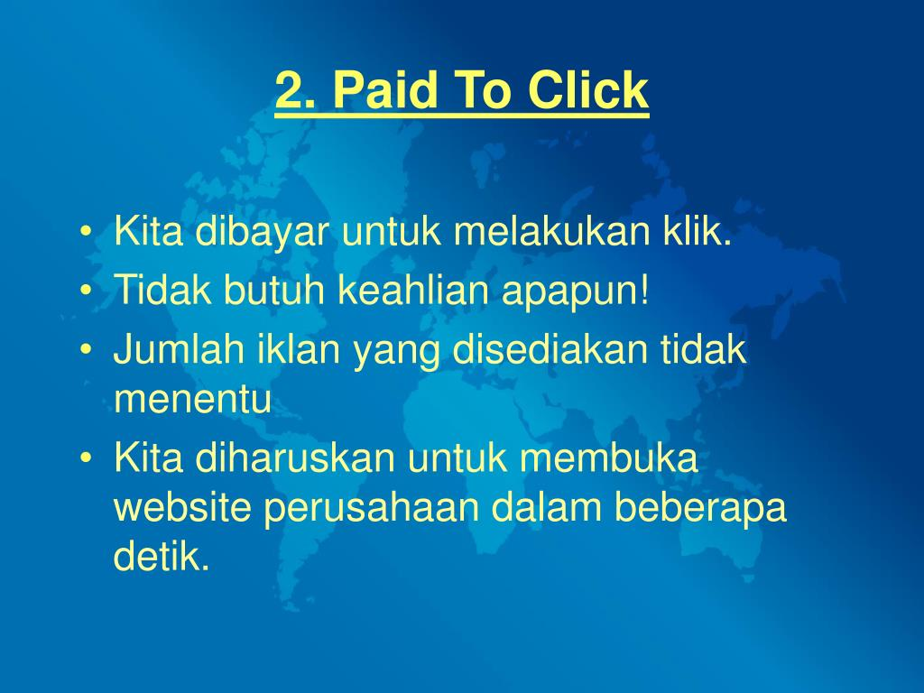 2. Paid To Click