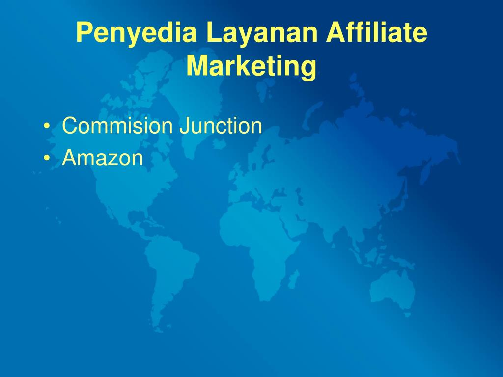 Penyedia Layanan Affiliate Marketing