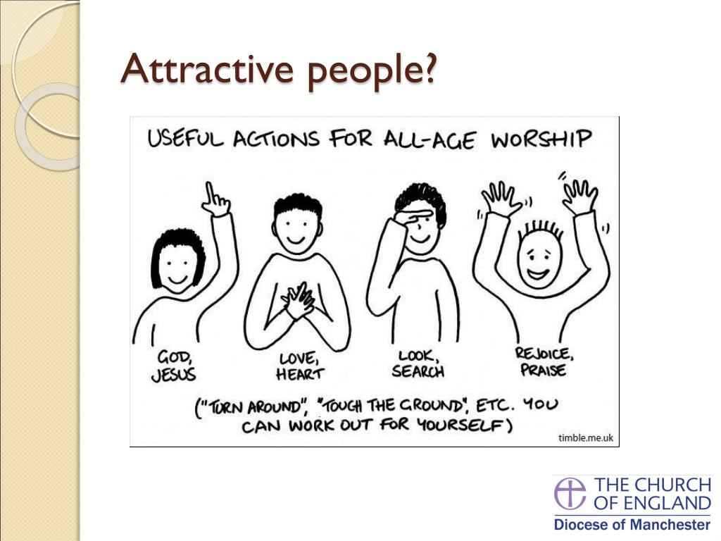 Attractive people?
