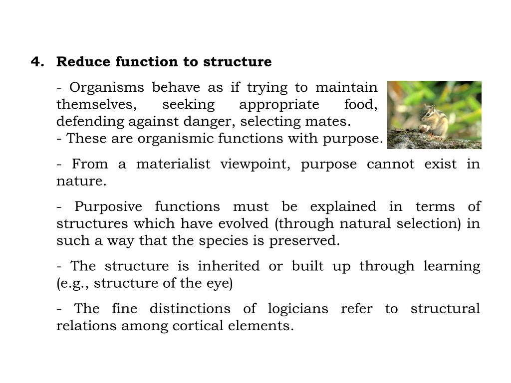 Reduce function to structure