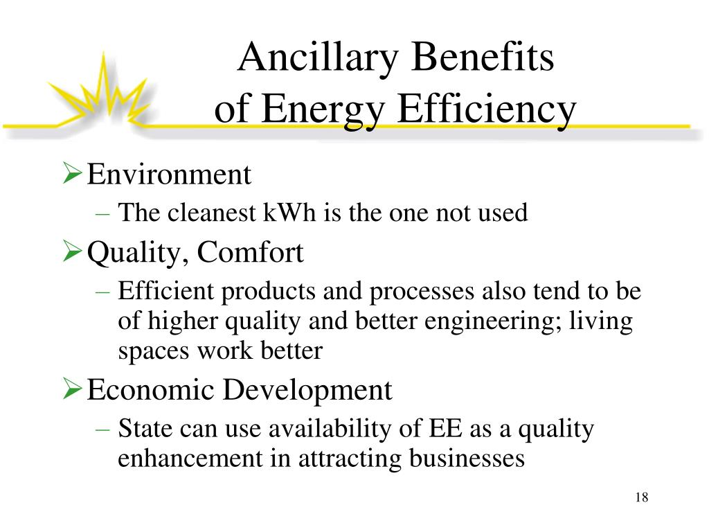 Ancillary Benefits