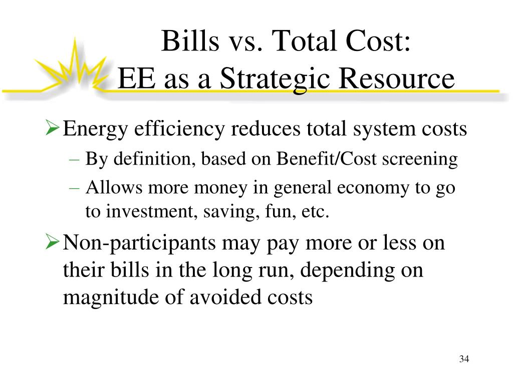 Bills vs. Total Cost: