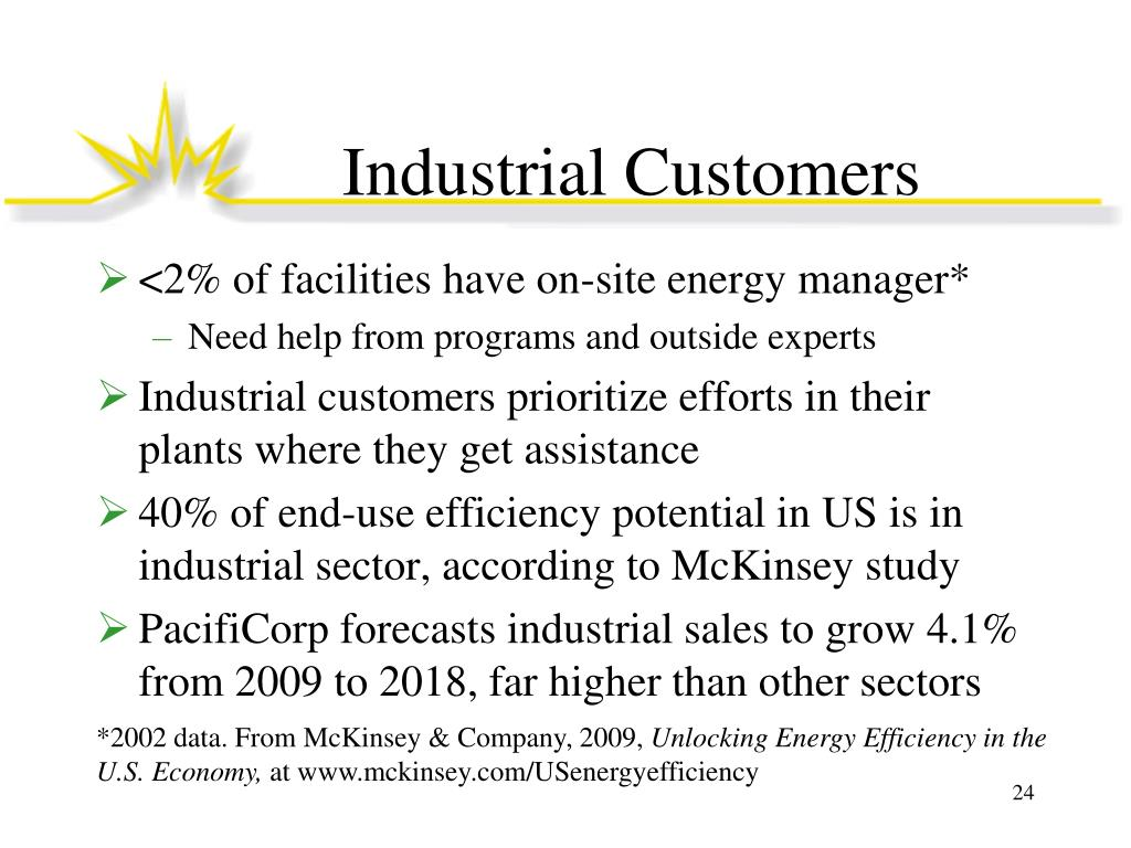 Industrial Customers