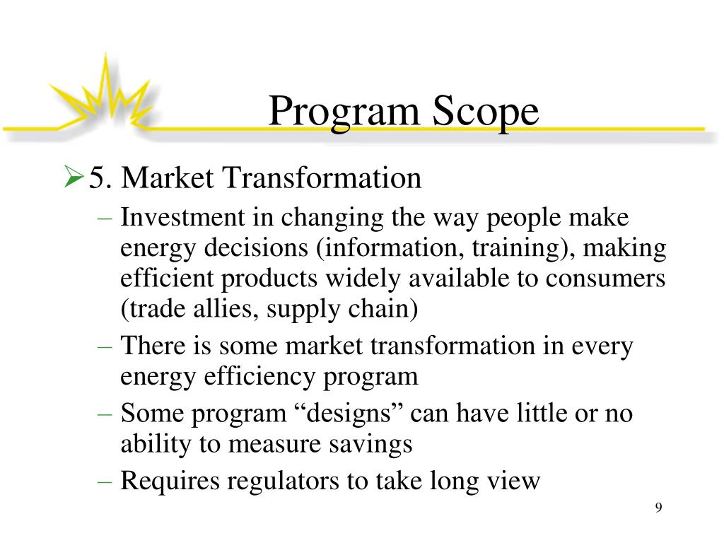 Program Scope
