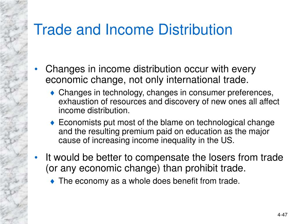 Trade and Income Distribution