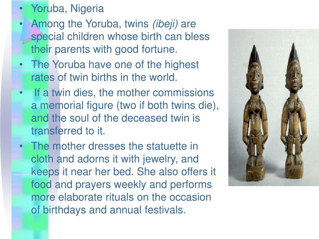 Yoruba, Nigeria